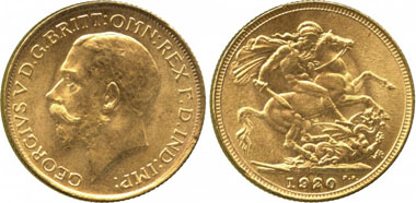 736: Colonial Gold Issues. SOUTH AUSTRALIA. The Sydney Branch Mint. The Legendary 1920 Sydney Mint Sovereign. Estimate: 300,000-400,000 GBP. Realized: 650,000.