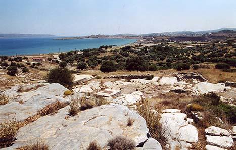 Die Ruinen von Thorikos.
