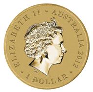 Australia / 1 AUD / Aluminium-Bronze / 13.80 g / 30.60 mm / Mintage: 7,500.