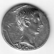 RIC 516: Augustus, Denar.