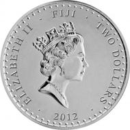 Fiji / 2 FJD / 1oz 999 silver / 40.7 mm / Mintage: 7,500.