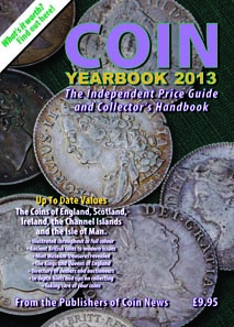 John Mussell & Philip Mussell, Coin Yearbook 2013. Token Publishing Ltd, 2012. Softback, 352 pages. ISBN: 978 1 908 828 02 6. GBP 9.95.