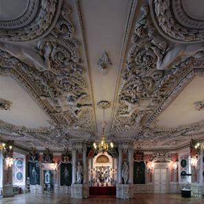 Schloss Friedenstein, Festsaal. Foto: Stefan C. Hoja / Wikipedia.