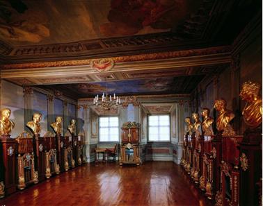 Das Münzkabinett. © Stiftung Schloss Friedenstein Gotha.
