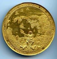 Kurfürstentum Brandenburg. Georg Wilhelm (1619-1640). Medaille auf den Waffenstillstand in Preußen, 1639. Gold. Medailleur: Sebastian Dadler. © Stiftung Schloss Friedenstein Gotha.