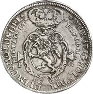 2954: NORWAY. Christian V (1670-1699). Thick, quadruple speziesthaler, 1680. Dav. A 3654. Of greatest rarity, very fine. Estimate: 50,000 EUR. Final Price: 130,000 EUR.