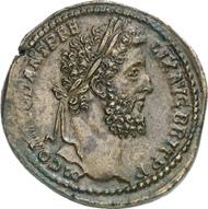 1082: ROME. Commodus (177-192). Sestertius, 190. BMC 652. Brown patina, extremely fine. Estimate: 1,500 EUR. Final Price: 5,000 EUR.