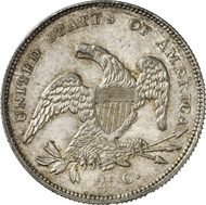 3390: USA. 25 cents (1/4 Dollar), 1831. Yeo. 2009. Nearly FDC. Estimate: 2,500 EUR. Final Price: 17,000.