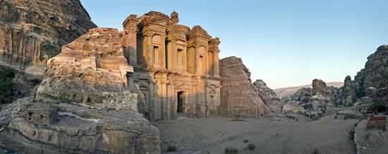 Petra: Die Fassade des
