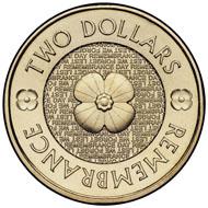 The non coloured circulation coin.