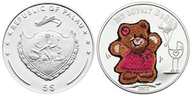Palau / 5 dollars / silver .925 / 20 g / 38.61 mm / Mintage: 2,012.