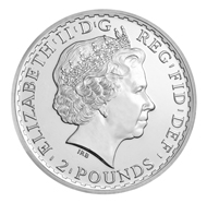 Great Britain / 1oz 0.999 silver / 31.1035 g / 38.61 mm / Design: Philip Nathan (reverse), Ian Rank-Broadley FRBS (obverse).