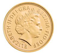 Great Britain / 0.9167 gold / 7.98 g / 22.05 mm / Design: Benedetto Pistrucci (reverse), Ian Rank-Broadley FRBS (obverse).