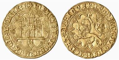 Henry IV, 1454-1474. Castellano, Burgos. From Künker 117 (2006), 5570.