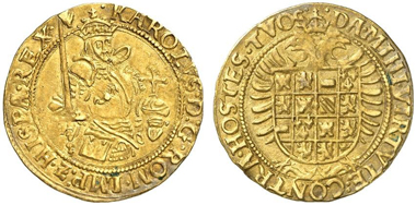 Charles V, 1506-1555. Real d'oro, Antwerp. From Künker 221 (2012), 8004.