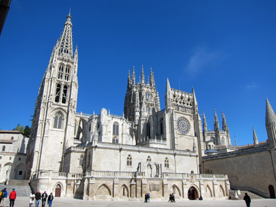 The Cathedral of Burgos. Photo: KW.