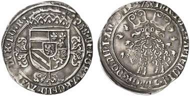 Philip the Fair, 1478-1506. Toison d'argent 1497, Antwerp. From Künker 217 (2012), 2036.
