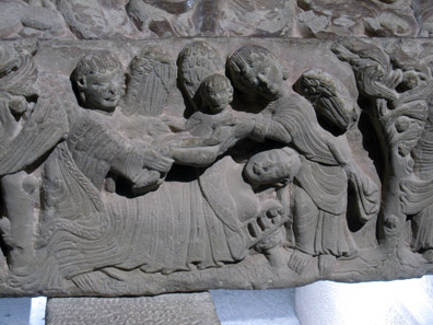 The sarcophagus of the doña Sancha. Photo: KW.