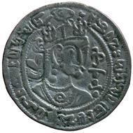 Könige von Kabul. Schahi Tigin (1. Hälfte 8. Jh. n. Chr.), Münzstätte Kabul. Bernisches Historisches Museum.