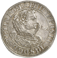 Philip Julius (Pomerania-Wolgast). Double imperial thaler, 1609, Franzburg. This coin is another unicum from the Friedrich Popken Collection and will be up for auction on January 31, 2013 with an estimate of 20,000 EUR.
