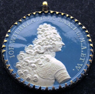 Medal in occasion of the death of Prince John William of Saxe-Gotha-Altenburg (1677-1707) at Toulon, 1707 by Johann Christian Koch or Maria Juliana Wermuth. Photo: KW.