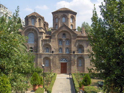 Church Panagia Chalkeon, an eleventh century Byzantine church. One of 15 UNESCO World Heritage Sites in Thessalonika. Photo: Konstantinos Stampoulis / Wikipedia.