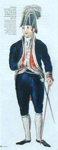 The director of the mint in his uniform around 1810. Photo: Casa de Moneda.