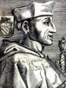 Cardinal Matthäus Schiner in a contemporary engraving. Source: Wikipedia.