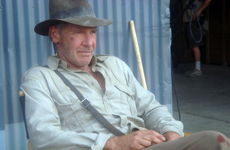 Harrison Ford during the last Indiana Jones film. Photo: John Griffiths / Wikipedia. http://creativecommons.org/licenses/by-sa/2.0/deed.de
