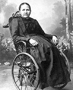 Sie schuf die legendären Puppen: Margarete Steiff (1847-1909). Quelle: Wikipedia.