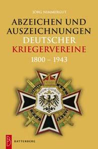 Jörg Nimmergut, Auszeichnungen deutscher Kriegervereine 1800-1943. Gietl Verlag, Regenstauf, 2012. 608 Seiten, 12,5 x 19 cm cm, Hardcover. ISBN: 978-3-86646-093-5. 49,90 Euro.