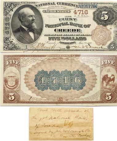 1157. Fr. 485, 1882 $5
