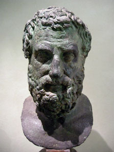 Source: Bronze bust of Aeschylus. Sailko / Wikipedia. http://creativecommons.org/licenses/by-sa/3.0/deed.de.