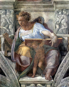 The prophet Daniel in the Sistine Chapel, 1508-1512. Source: The York Project / Wikipedia.