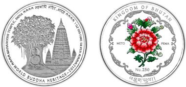 Bhutan / 250 BTN / 1oz silver .999 / 40.70 mm / Mintage: 10,000.