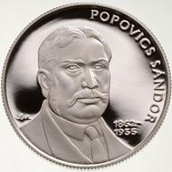 Hungary / 3,000 Forint / 925 silver / 20 g / 34 mm / Design: Márta Csikai / Mintage: 2,000 (BU), 4,000 (Proof).