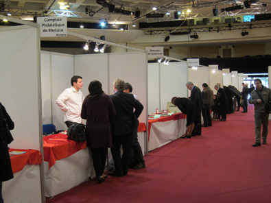 All Monégasque coin dealers were present and there is a great many of them in the Principality. Photo: KW.