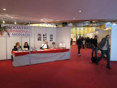 Table of the Numismatic Association of Monaco. Photo: KW.