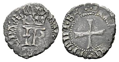 Catherine and John of Navarre (1483-1512). Cornado, Pamplona. From Cayon May16, 2012, 416.