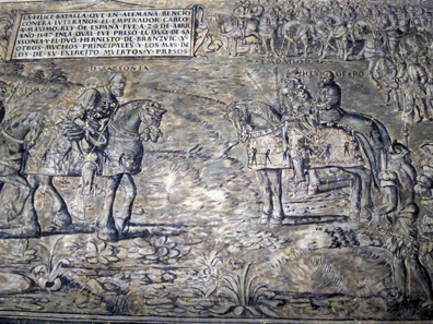 The Battle of Mühlberg 1547. Photo: KW.