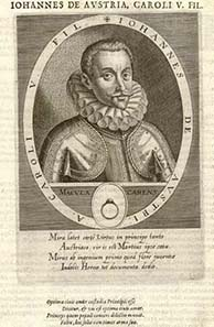 Don John of Austria, victor of Lepanto.