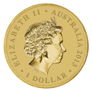 Australia / 1 AUD / Aluminium-bronze / 13.00 g / 30.60 mm / Mintage: Unlimited.