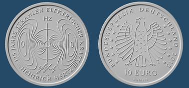 Die neue deutsche 10-Euro-Gedenmünze. © BADV