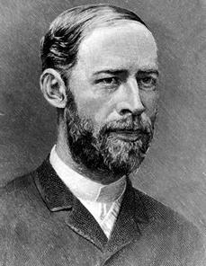 Porträt Heinrich Hertz, Fotografie von Robert Krewaldt, Bonn, spätestens 1894. Quelle: Wikipedia.