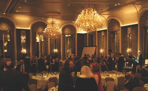ANS Gala 10 January 2013 at the Waldorf-Astoria Hotel, NYC. Photo: Alan Roche. Courtesy American Numismatic Society
