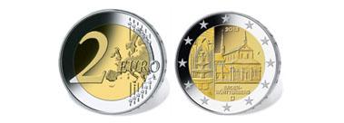 Die neue 2-Euro-Sondermünze Maulbronn