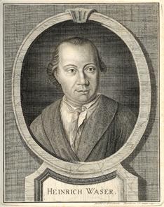 Johann Heinrich Waser, von J. R. Holzhalb nach Brunschweiler. Quelle: Wikipedia