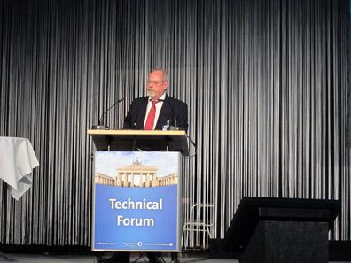 Dr Wolfgang Bretz, Wickeder Westfalenstahl. Photo: BS.