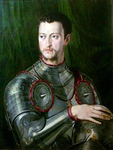 Porträt Großherzog Cosimo I. © Su Concessione del Ministero per i Beni e le Attività Culturali.