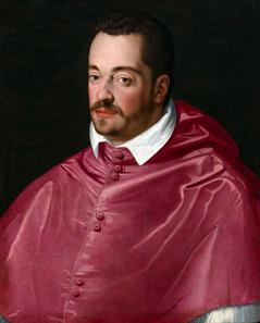 Porträt Großherzog Ferdinando I. als Kardinal. © Su Concessione del Ministero per i Beni e le Attività Culturali.